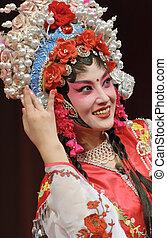 pretty chinese opera actress - a pretty chinese opera...
