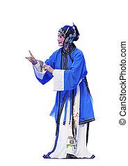 pretty chinese opera actress - chinese traditional opera...