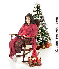 Pretty Christmas iPad User