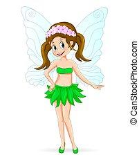 Pretty cute fairy
