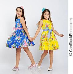pretty dancing girls