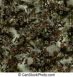 Pretty dark floral daisy texture background. Variegated bold realistic flower seamless pattern. Indigo blue large scale bloom all over print. Elegant trendy moody modern fashion fabric swatch.