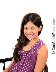 Pretty eight year old girl - Pretty eight year old...