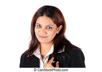 Pretty Executive - A portrait of a pretty Indian business...