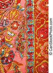 Pretty fabric pattern.
