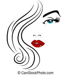 Pretty Face Girl - An image of pretty face girl.