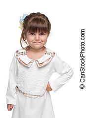 Pretty fashion little girl
