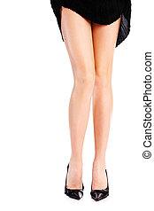 pretty female legs