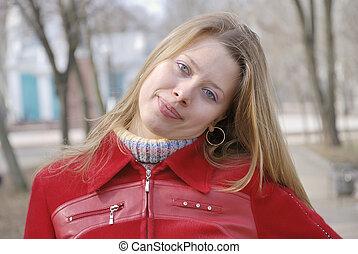 Pretty girl portrait