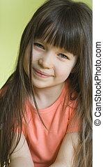 Pretty girl - Smiling girl