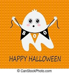 pretty halloween ghost