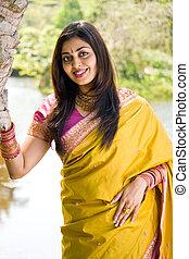 pretty indian woman