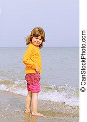 Pretty little girl portrait