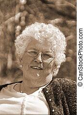 pretty older woman