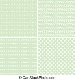 Pretty pastel vector patterns.