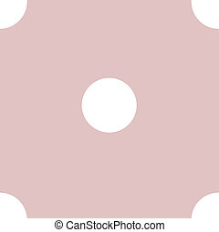 Pretty polka dots seamless vector