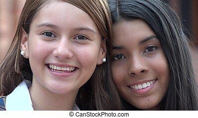 Teenage really girls pretty Watch: A