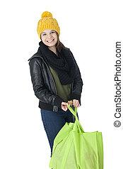 Pretty Teen Shopper