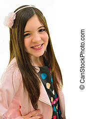 Pretty ten year old girl