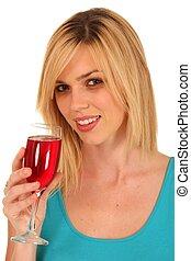 Pretty Wine Drinker