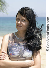 pretty woman greek island