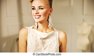 Pretty young woman with a fabulous smile