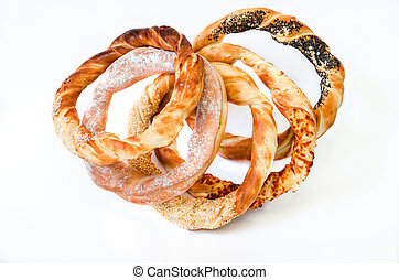 Pretzel - Pack of different pretzels (romanian pastry) with...