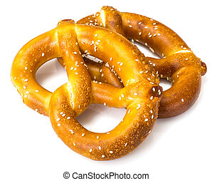 Pretzels traditional German beer snack