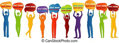 """prevención, grupo, discurso, lives""""., contagio, hogar, ..."""