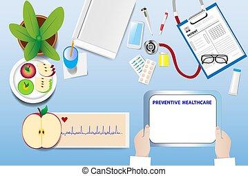 Preventive healthcare vector