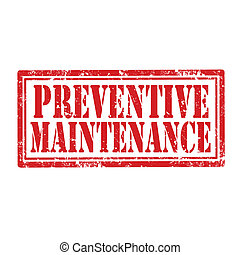 Preventive Maintenance-stamp