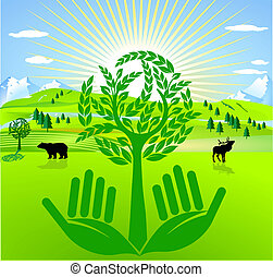 preventivo, proteção ambiente