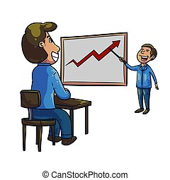 prezentacja, analityk