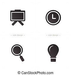 prezentacja, ikony