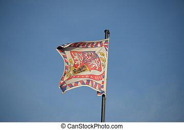 presidential flag-Czech Republic