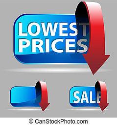 prezzo, basso