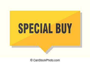 prezzo, comprare, etichetta, speciale