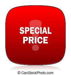 prezzo, speciale, icona