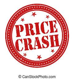 Price crash stamp