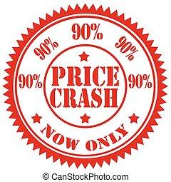 Price Crash-stamp