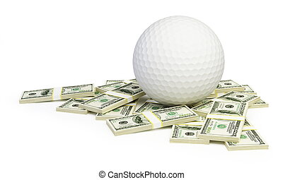 Price Cup Golf on a white background