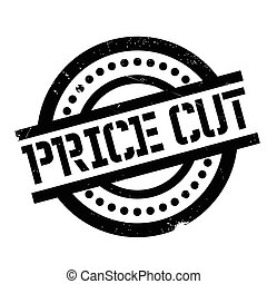 Price Cut rubber stamp. Grunge design with dust scratches....