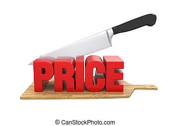 Price Cuts Concept
