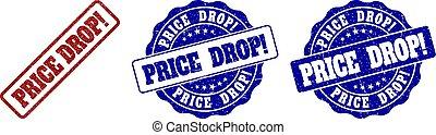 PRICE DROP! Grunge Stamp Seals