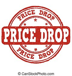Price drop stamp