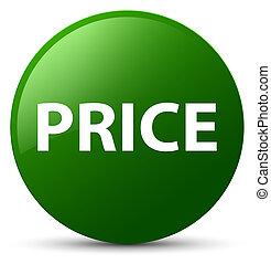 Price green round button