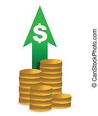 price increase illustration design