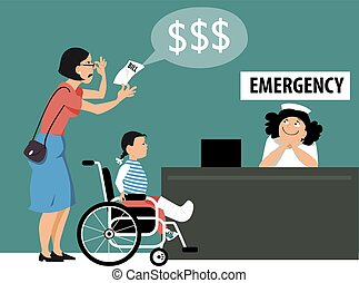 Price of the emergency health care