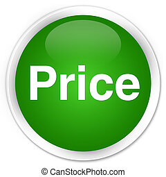 Price premium green round button