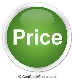 Price premium soft green round button